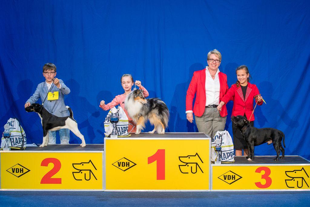 Internationaler Sieger Juniorhandling AK 1
