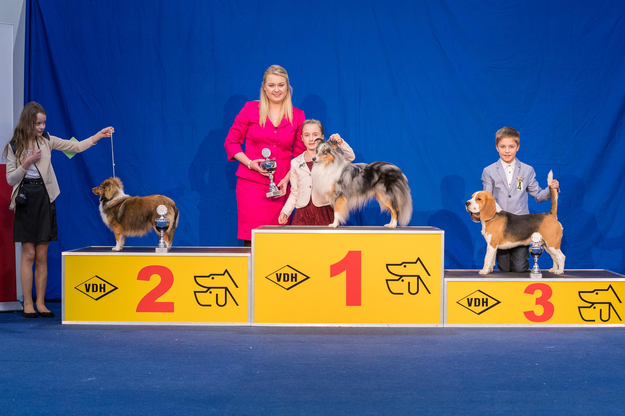 Nationaler Sieger Juniorhandling AK 1
